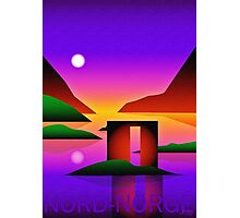 Kunst I Nord-Norge,  Norway Photographic Print
