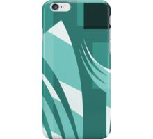 No Cares -  Take Courage - Leap of Faith Design by Jenny Meehan iPhone Case/Skin