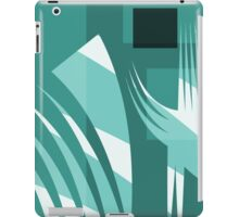 No Cares -  Take Courage - Leap of Faith Design by Jenny Meehan iPad Case/Skin