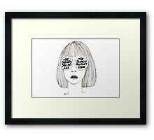 Sadness Framed Print