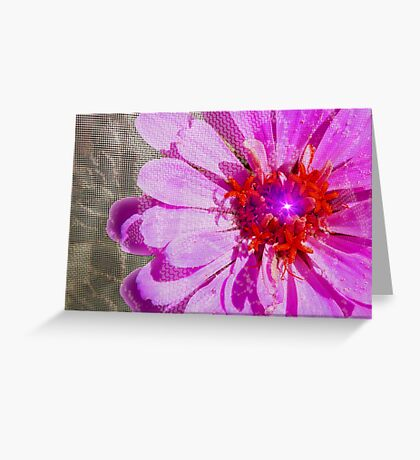 Petals To The Metal Greeting Card