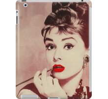 Audrey Hepburn, Breakfast at Tiffany's  iPad Case/Skin