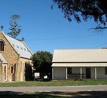 St Peter's Catholic Church and Presbytery, Greenough, Western Australia by Elizabeth Sheppard