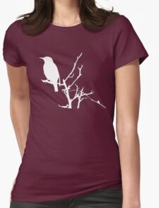 Little Birdy - White Womens Fitted T-Shirt