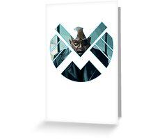 Nick Fury Greeting Card