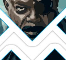 Nick Fury Sticker