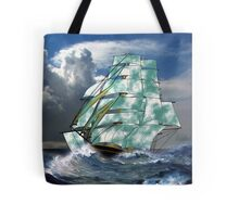 A Cloud of Sails in Rough Seas - all products Tote Bag