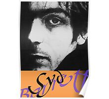 Syd Barrett ink portrait Poster