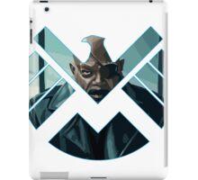 Nick Fury iPad Case/Skin