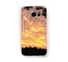 Fiery skies Samsung Galaxy Case/Skin