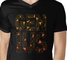 Genius Mens V-Neck T-Shirt