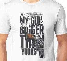 Quote - Is all about the size...ask Harry Callahan! Unisex T-Shirt