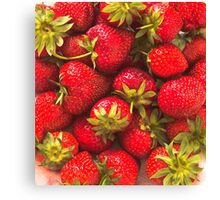 Strawberry Forever Canvas Print