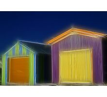 Shaggy Huts Photographic Print
