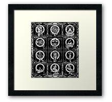 ZombStrology Duvet  Framed Print