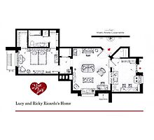 Lucy and Ricky Ricardo's apartment Photographic Print