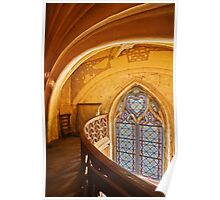 Gothic Window Poster