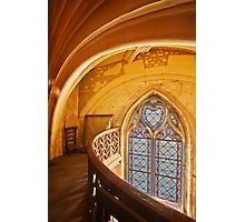 Gothic Window Photographic Print