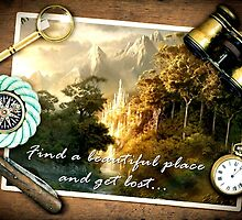 Find a beautiful place and get lost...Rivendell by augustinet