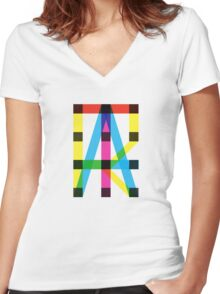 Structure Women's Fitted V-Neck T-Shirt