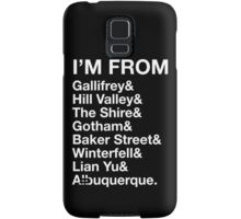 I'M FROM Samsung Galaxy Case/Skin