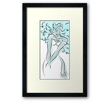 B is for Beauty Framed Print