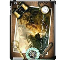 Find a beautiful place and get lost...Rivendell iPad Case/Skin