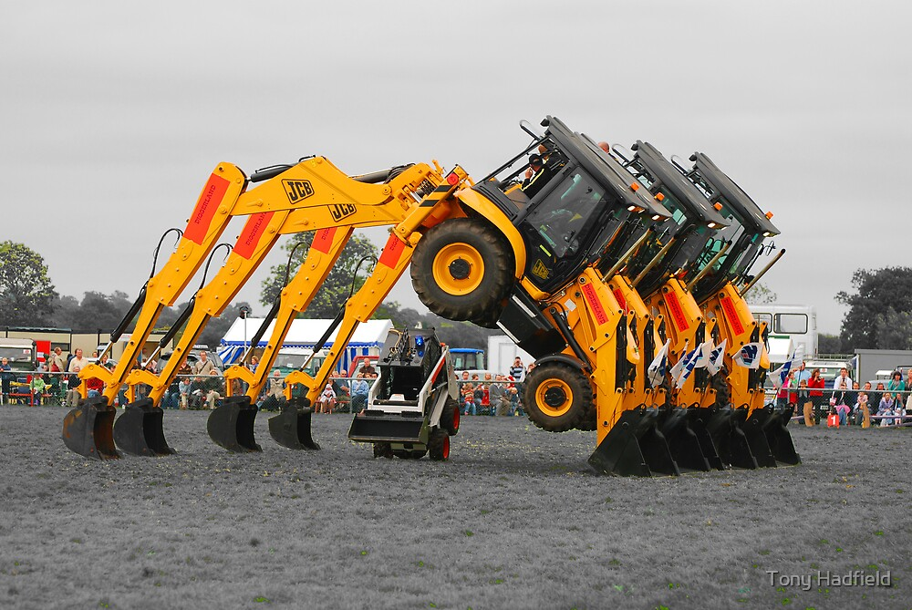 The JCB stunt team! by Tony Hadfield