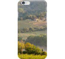 Chianti Vineyards iPhone Case/Skin