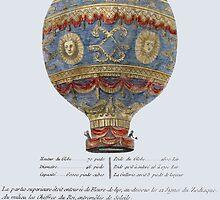 hot-air balloon by alphaville
