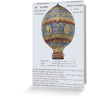 hot-air balloon Greeting Card