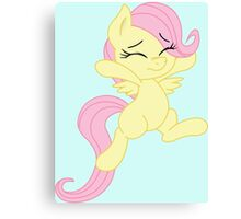 Fluttershy Filly Canvas Print