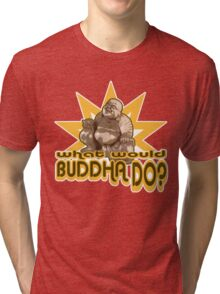 Buddha t-shirt Tri-blend T-Shirt