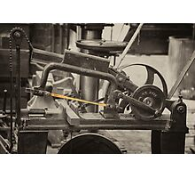 Mechanical Hacksaw  Photographic Print