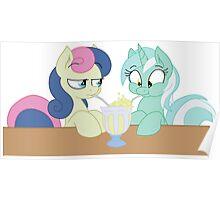 Lyra and Bon Bon Poster