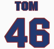National baseball player Tom Waddell jersey 46 by imsport