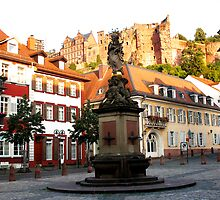 Statue & Castle by Germany
