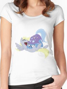 Tickling Trixie Women's Fitted Scoop T-Shirt