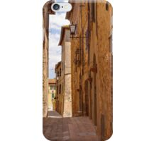 Streets of Pienza iPhone Case/Skin