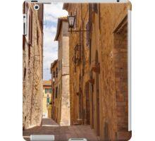Streets of Pienza iPad Case/Skin