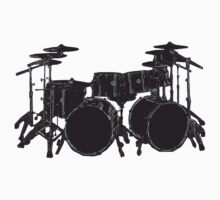Drum Kit One Piece - Short Sleeve