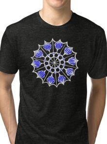 Metal work papercut Tri-blend T-Shirt