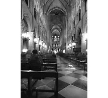 inside notre dame Photographic Print