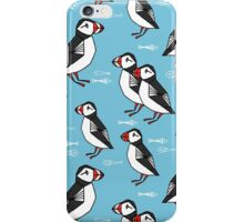 Puffins by Andrea Lauren iPhone Case/Skin