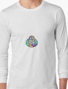 Buddha Trippy Long Sleeve T-Shirt