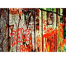 London Town Graffiti - GaryTrotmanphotoZ Photographic Print