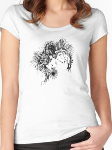 cool sketch 69 Women's Fitted Scoop T-Shirt