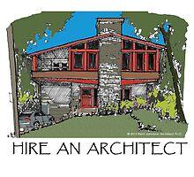 Hire An Architect by kjadesign