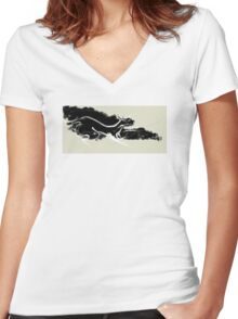 cool sketch 61 Women's Fitted V-Neck T-Shirt