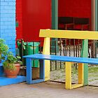 Colourful Bench by Robin Webster